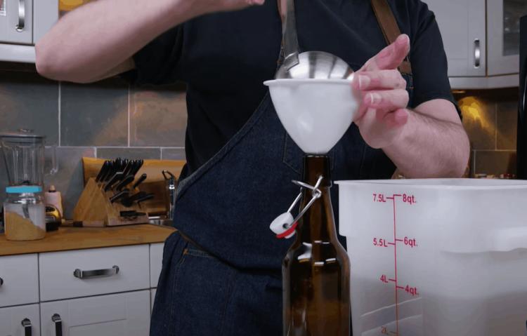 Добавление газированности имбирному пиву