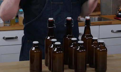 Вторичная ферментация имбирного пива
