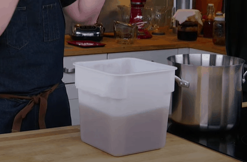 Храните имбирную смесь при идеальной температуре