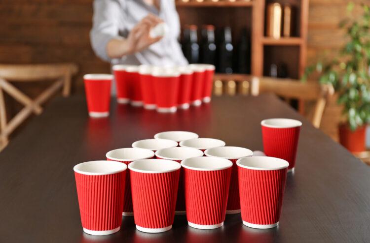 История появления игры бирпонг (beer pong)