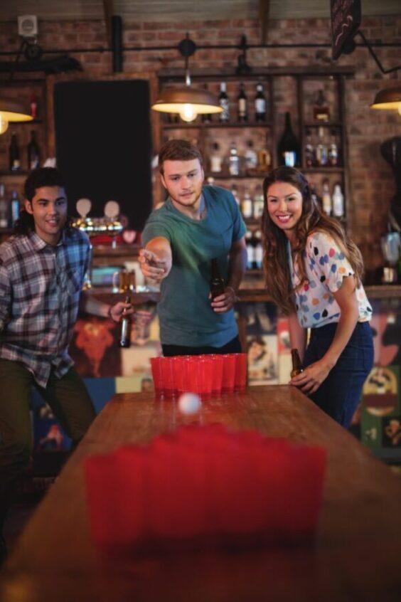 Бирпонг (Beer Pong) - история, правила и хитрости