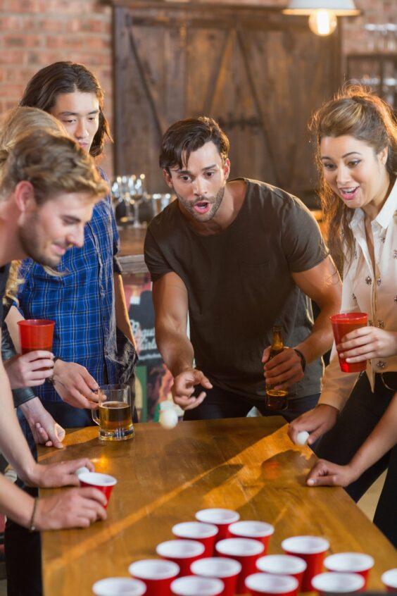 Что необходимо для игры в beer pong