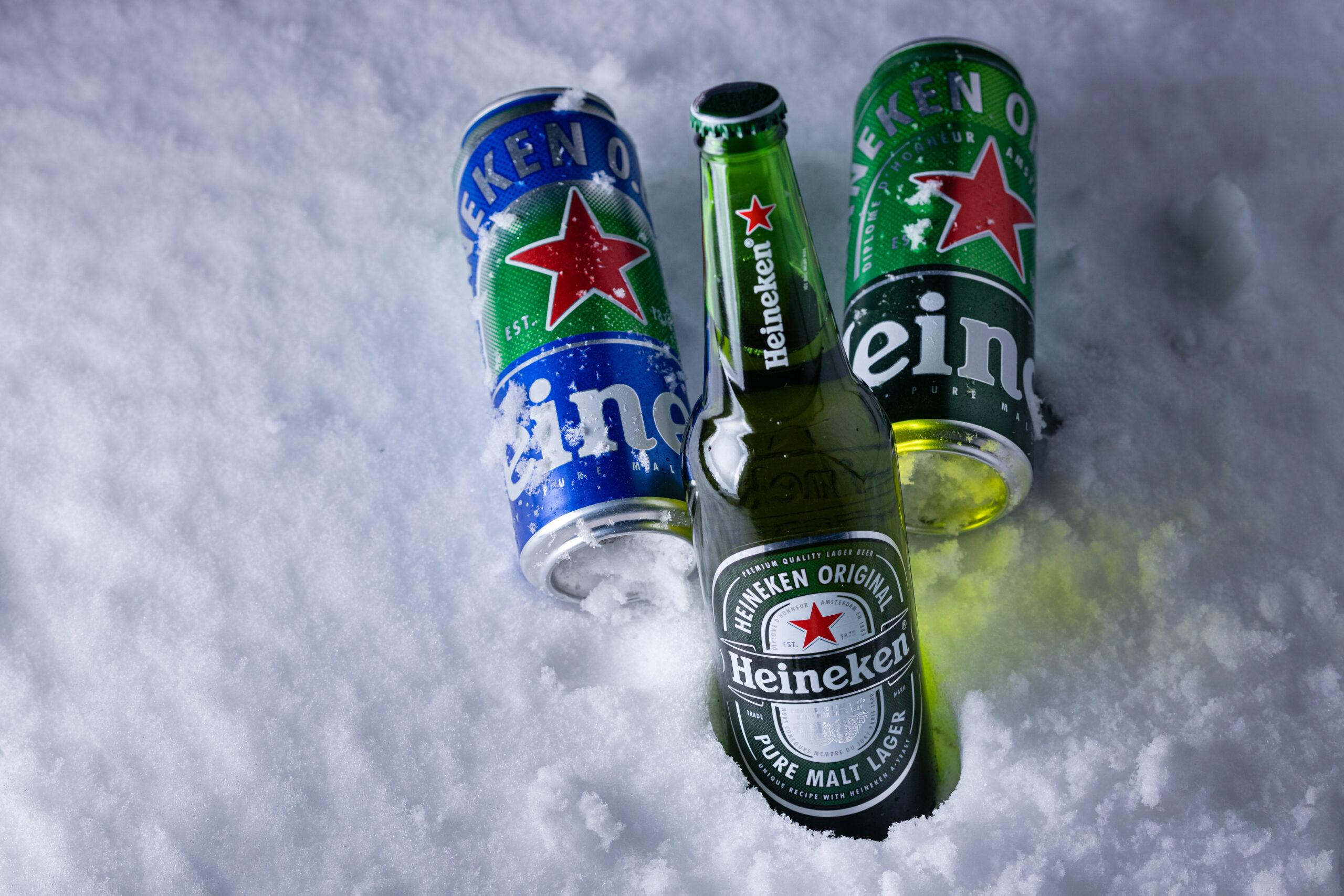 Виды пива Heineken