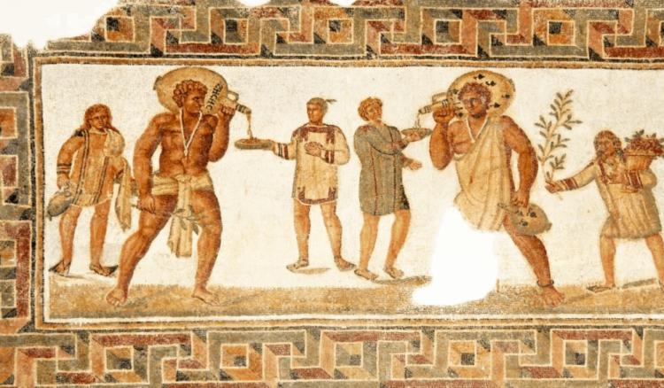 Пиво в Древней Греции и Риме