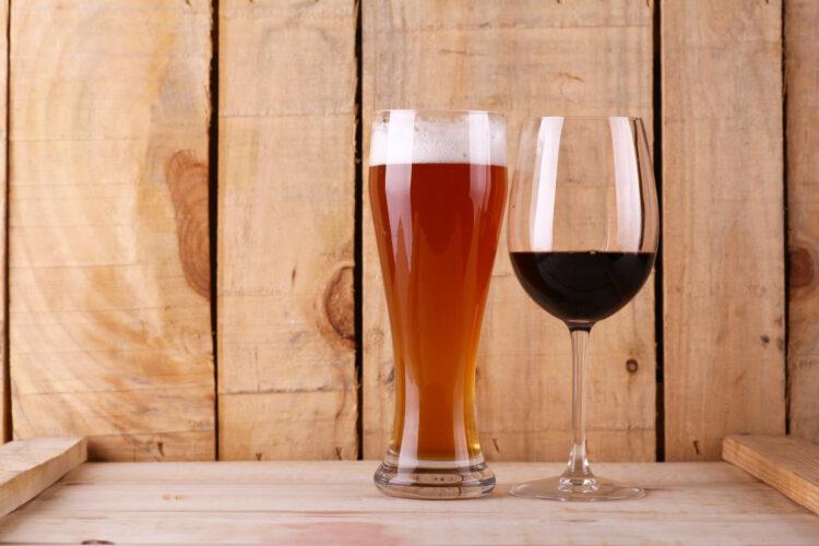 Преимущества вина перед пивом.
