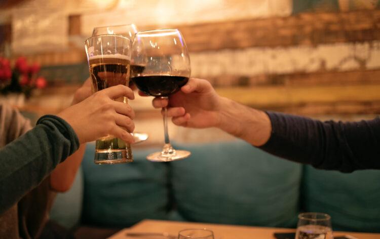 Преимущества пива перед вином.